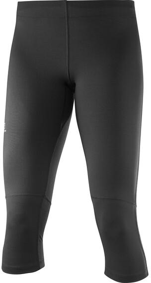 Salomon Agile Hardloop Shorts Dames zwart
